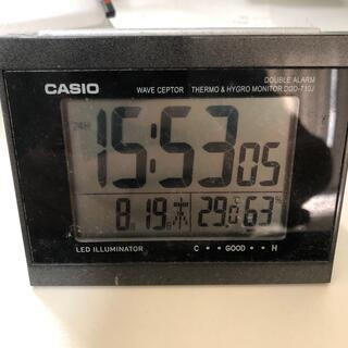 カシオ(CASIO)の置き時計(置時計)