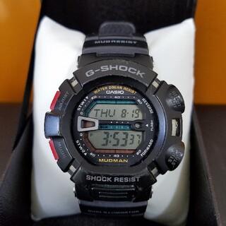 ジーショック(G-SHOCK)のG-shock MUDMAN 電池交換済み(腕時計(デジタル))