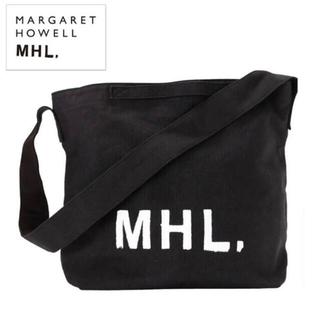 マーガレットハウエル(MARGARET HOWELL)のMARGARET HOWELL 2WAYショルダーバッグ ブラック(ショルダーバッグ)