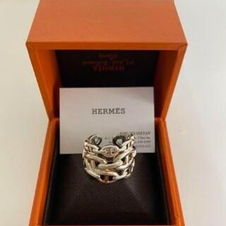 エルメス(Hermes)のHERMES アンシェネ GM リング57 シェーヌダンクル(リング(指輪))