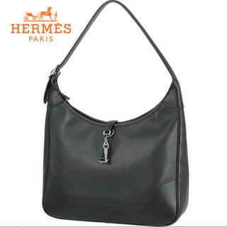 エルメス(Hermes)のエルメス HERMES ショルダーバック ハイブランド レディース シルバー 黒(ショルダーバッグ)