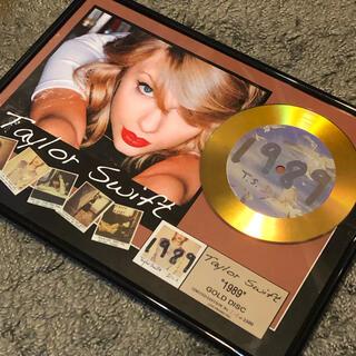 テイラースウィフトのゴールドディスク(数量限定、ナンバー入り)(ポップス/ロック(洋楽))