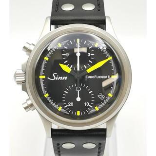 シン(SINN)のSINN ジン 356.12244 ユーロ フリーガーⅡ LIMITED 時計(腕時計(アナログ))