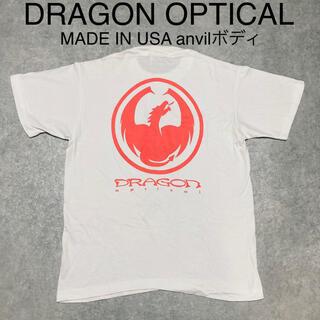 ドラゴン(DRAGON)のUSA製 DRAGON OPTICAL ドラゴン ビンテージ Tシャツ 古着 M(Tシャツ/カットソー(半袖/袖なし))
