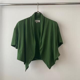 ドルチェアンドガッバーナ(DOLCE&GABBANA)のドルチェアンドガッパーナ ジャケット デザイン ブラウス トップス (シャツ/ブラウス(半袖/袖なし))