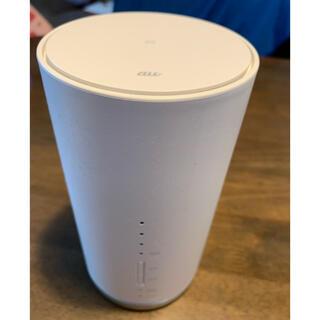 ファーウェイ(HUAWEI)のau Speed Wi-Fi HOME L01S(その他)