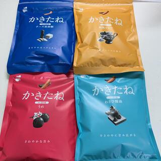 かきたね 柿の種ピーナッツなし 4種 梅 わさび醤油 チーズ黒胡椒 和風カレー(菓子/デザート)
