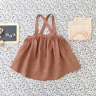 キャラメルベビー&チャイルド(Caramel baby&child )のSOOR PLOOM スカート 2/3y(スカート)
