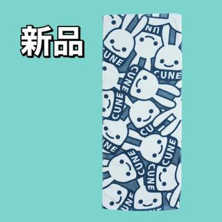 CUNE - CUNE 新品 フェイスタオル 青