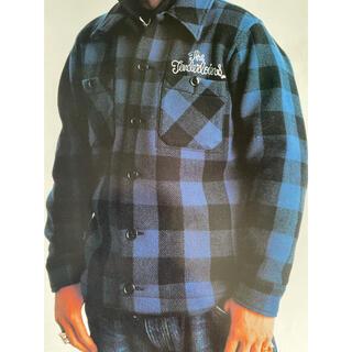 テンダーロイン(TENDERLOIN)のテンダーロイン バッファロー 青 S シャツジャケット(ブルゾン)