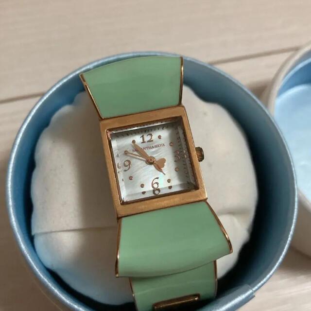 Samantha Silva(サマンサシルヴァ)のサマンシルヴァ ミントグリーン 時計 レディースのファッション小物(腕時計)の商品写真