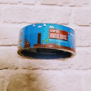 ニンテンドウ(任天堂)の新品◆スーパーマリオブラザーズゲームステージ&キャラクターテープコレクション4m(テープ/マスキングテープ)