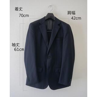 エディフィス(EDIFICE)のEDIFICE スーツ ネイビー Sサイズ(スーツジャケット)