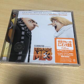 《新品未使用》Despicable Me 3 (怪盗グルーのミニオン大脱走)(映画音楽)