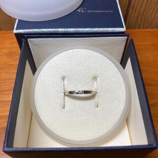 ヨンドシー(4℃)の4°C 一粒ストーンリング(リング(指輪))