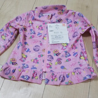 バンダイ(BANDAI)のラッシュガード  女の子  アンパンマン  新品 90(水着)