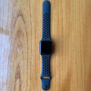 アップルウォッチ(Apple Watch)のApple Watch Nike+ Series3 38mm GPSモデル(腕時計(デジタル))