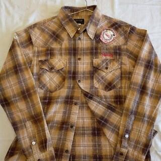 ノートン(Norton)のNorton ネルシャツ チェックシャツ 長袖シャツ Lサイズ(シャツ)