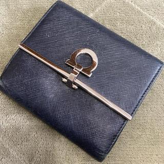 Salvatore Ferragamo - 【送料込】フェラガモ 二つ折り財布👛ブラック
