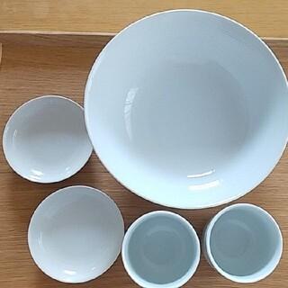ムジルシリョウヒン(MUJI (無印良品))の無印良品 白磁器 5点セット(食器)