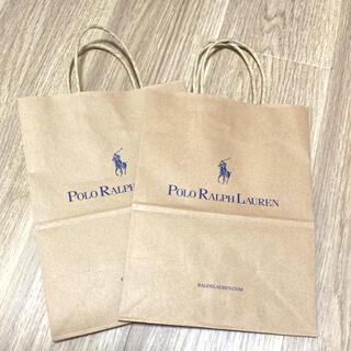ポロラルフローレン(POLO RALPH LAUREN)のラルフローレン 紙袋(ショップ袋)