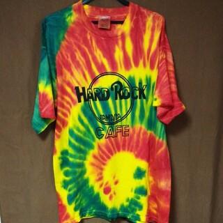 ロックハード(ROCK HARD)のハードロックカフェ ジャマイカ ダイダイHard Rock CAFE(Tシャツ/カットソー(半袖/袖なし))