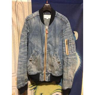 デニムアンドサプライラルフローレン(Denim & Supply Ralph Lauren)のラルフローレン デニムアンドサプライ デニム ジャケット MA-1ジャケット(Gジャン/デニムジャケット)