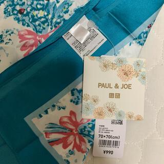ユニクロ(UNIQLO)の【新品 未使用】UNIQLO×PAUL&JOE♡スカーフ (バンダナ/スカーフ)