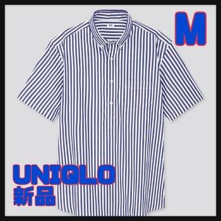 ユニクロ(UNIQLO)のUNIQLO  ユニクロ ストライプ プルオーバー シャツ Mサイズ 新品(シャツ)