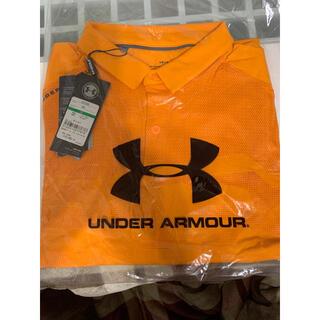 UNDER ARMOUR - 新品未使用 アンダーアーマー UNDER ARMOUR ポロシャツ ゴルフウェア