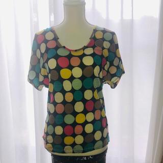 ツモリチサト(TSUMORI CHISATO)のツモリチサト 半袖ウールカットソー Tシャツ M(Tシャツ(半袖/袖なし))