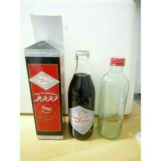 コカコーラ(コカ・コーラ)の貴重!セール!【コカ・コーラ】2000年記念ボトルと125周年記念ボトルのセット(その他)