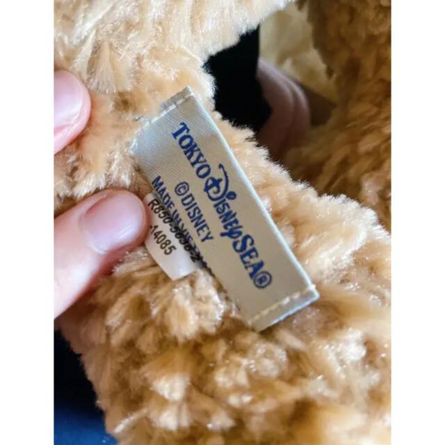 ダッフィー(ダッフィー)のダッフィー Sサイズ ぬいぐるみ  エンタメ/ホビーのおもちゃ/ぬいぐるみ(ぬいぐるみ)の商品写真