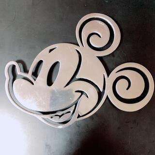 ディズニー(Disney)の-Disney- ミッキーマウス 鍋敷(キッチン小物)