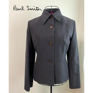 Paul Smith - 【美品】ポールスミスウーマン ストライプパンツスーツ 上下