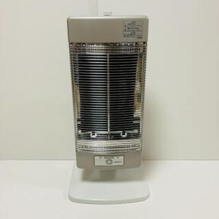 コロナ 遠赤外線電気ストーブ コアヒート シャンパンシルバー DH-1216R(電気ヒーター)
