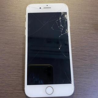 アイフォーン(iPhone)のジャンク品 simフリー iPhone8 64GB シルバー シムフリー(スマートフォン本体)