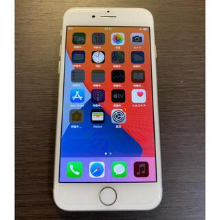 アイフォーン(iPhone)の超美品 simフリー iPhone8 64GB シルバー シムフリー(スマートフォン本体)