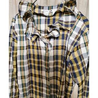 ユニクロ(UNIQLO)のUNIQLO×JW Andersonコラボのチェックシャツ XLサイズ(その他)