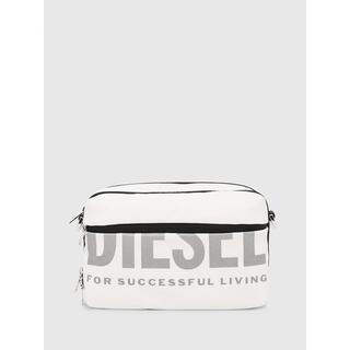 ディーゼル(DIESEL)の正規 新品 DIESEL ロゴ ショルダーバッグ ボディバッグ ホワイト(ボディバッグ/ウエストポーチ)