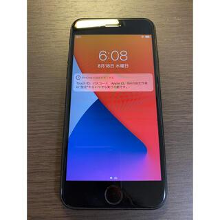 アイフォーン(iPhone)の超美品 simフリー iPhoneSE2 グレー シムフリー se第二世代(スマートフォン本体)