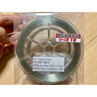 新品 DRT ナイロンライン ハード20lb ミストグリーン タイニークラッシュ(釣り糸/ライン)