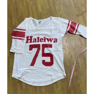 ハレイワ(HALEIWA)の5分袖 Tシャツ白 HALEIWA(Tシャツ/カットソー(七分/長袖))