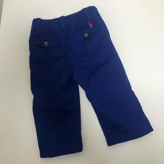 POLO RALPH LAUREN - ポロラルフローレン   青色パンツ 12M 80cm