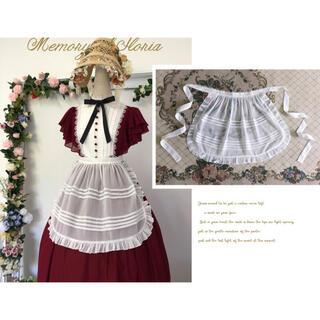 アンジェリックプリティー(Angelic Pretty)のUnideer -Memory of Floria- Apron ホワイト(その他)