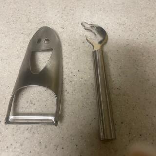 アレッシィ(ALESSI)のピーラーと栓抜きのセット(調理道具/製菓道具)