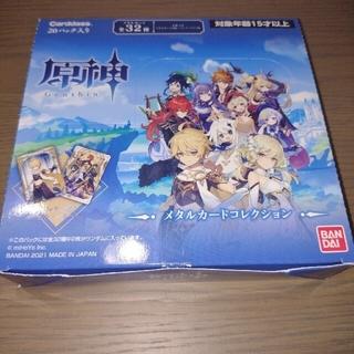 原神 メタルカード コレクション BOX 未開封(Box/デッキ/パック)