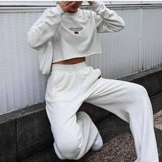 アリシアスタン(ALEXIA STAM)のACLENT アクレント Relaxy wide sweat  pants(カジュアルパンツ)