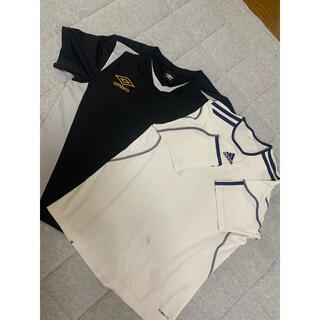 アンブロ(UMBRO)のumbroとアディダス シャツ 2枚セット 160(Tシャツ/カットソー)