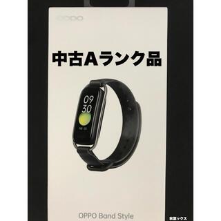 オッポ(OPPO)のOPPO Band 国内版 中古Aランク品 OPPO Style Band (腕時計(デジタル))